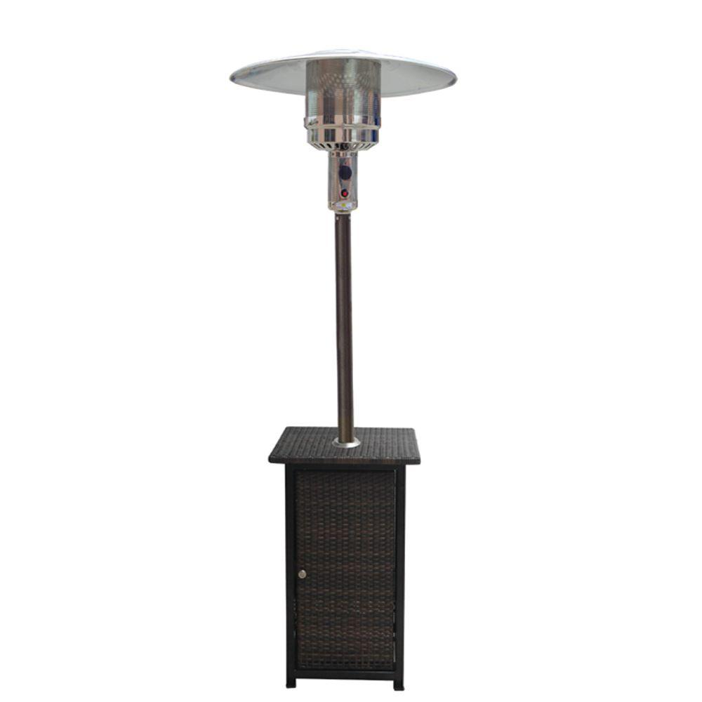 41 000 Btu Propane Patio Heater With Woven Base