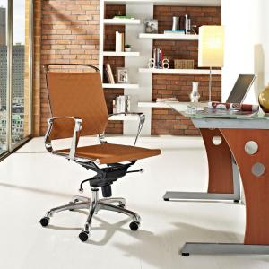 acme furniture hamilton top grain leather office chair in cocoa