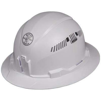 Vented Full Brim Style Hard Hat