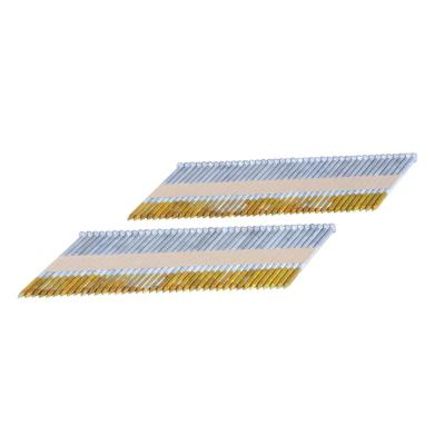 2500-Pack Hitachi 15108 3-Inch x 0.131-Inch Ring Shank Clipped-Head Paper Tape Framing Brite Basic Nails