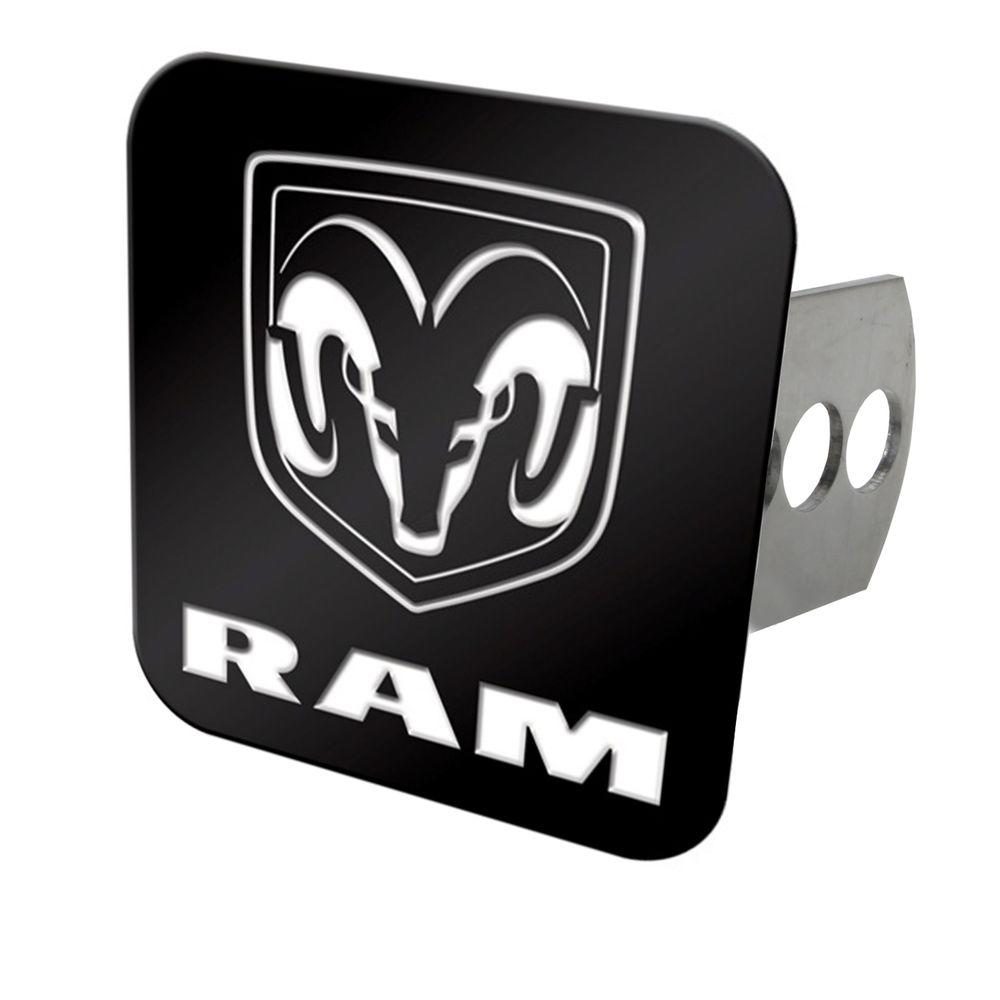 null Ram Color Hitch Cover