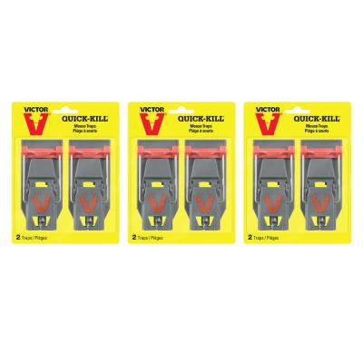 Quick-Kill Mouse Trap (6-Pack)