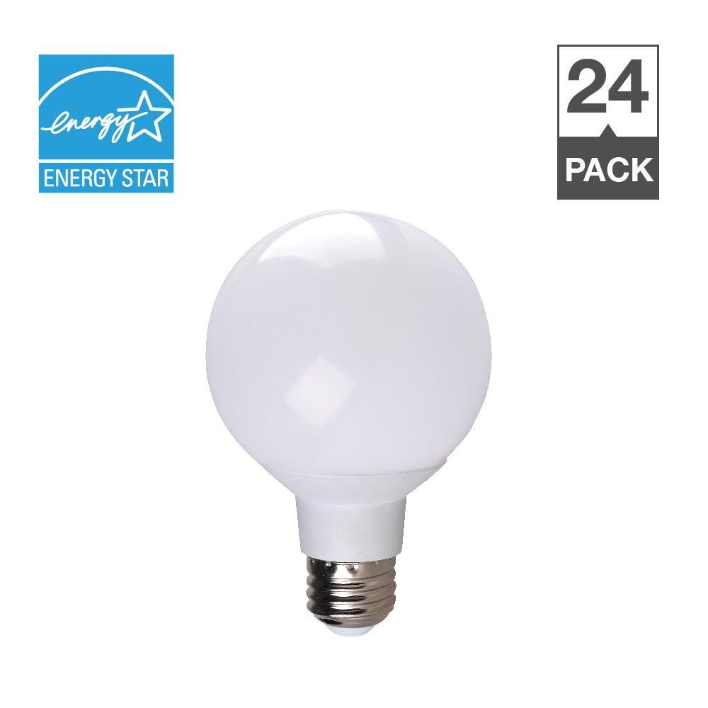 Bulbrite 40w Equivalent Amber Light G25 Dimmable Led: Simply Conserve 40W Equivalent Soft White 2700K G25