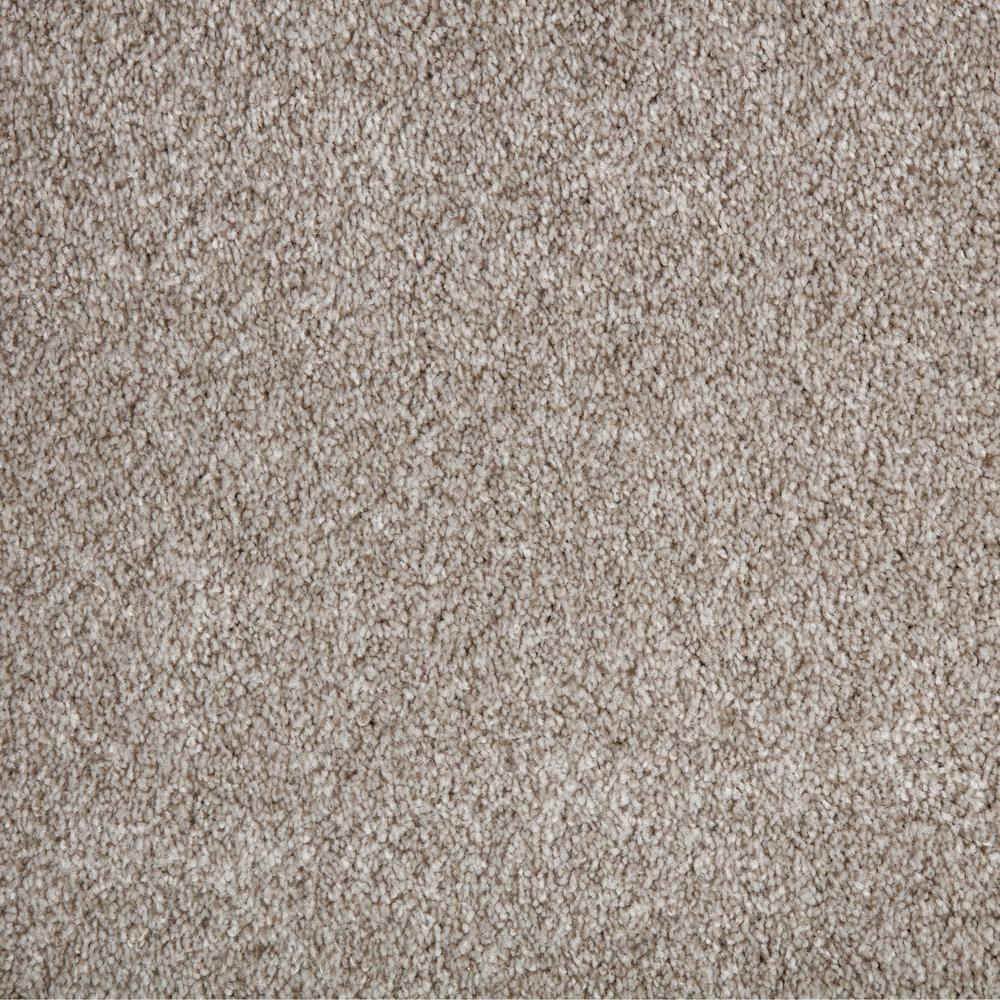 Superiority II - Color Gobi Desert Texture 12 ft. Carpet