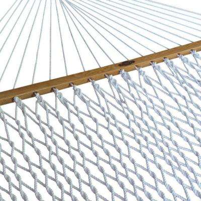 13 ft. Polyester Single Rope Hammock White