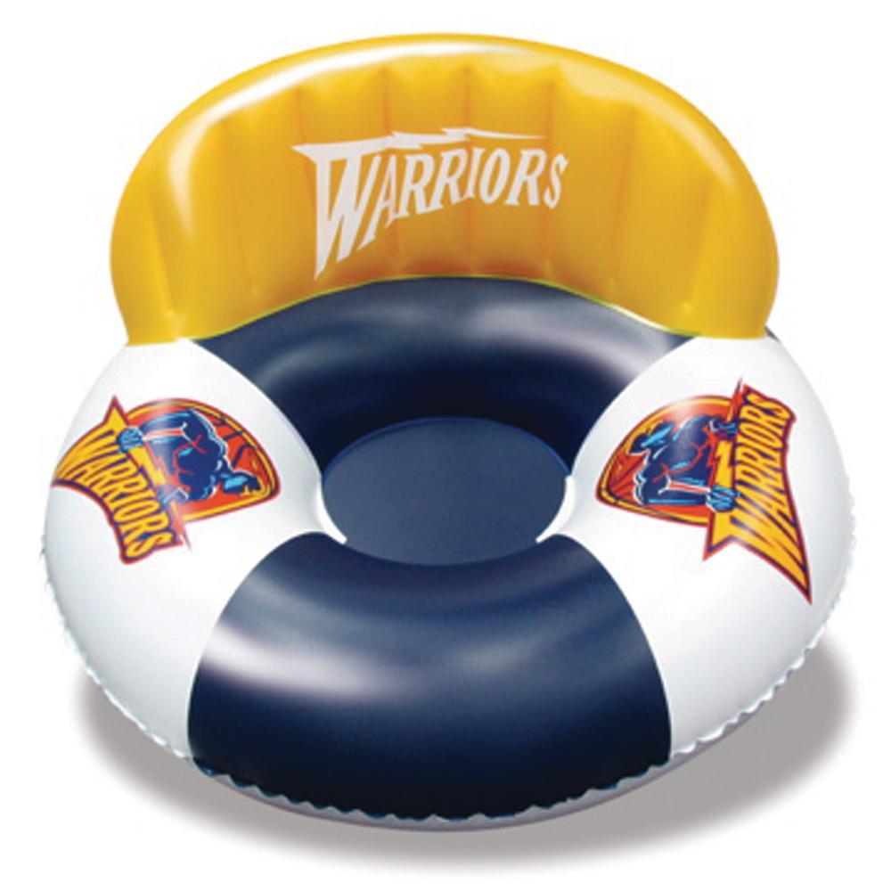 Golden State Warriors NBA Deluxe Swimming Pool Float Tube