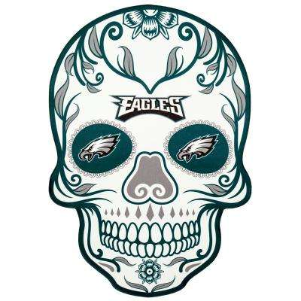 NFL Philadelphia Eagles Outdoor Skull Graphic- Small