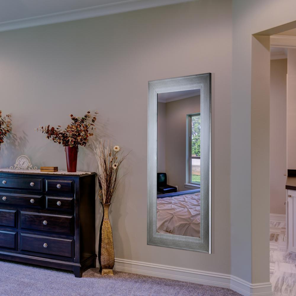 Leighton Rectangular White Vanity Mirror