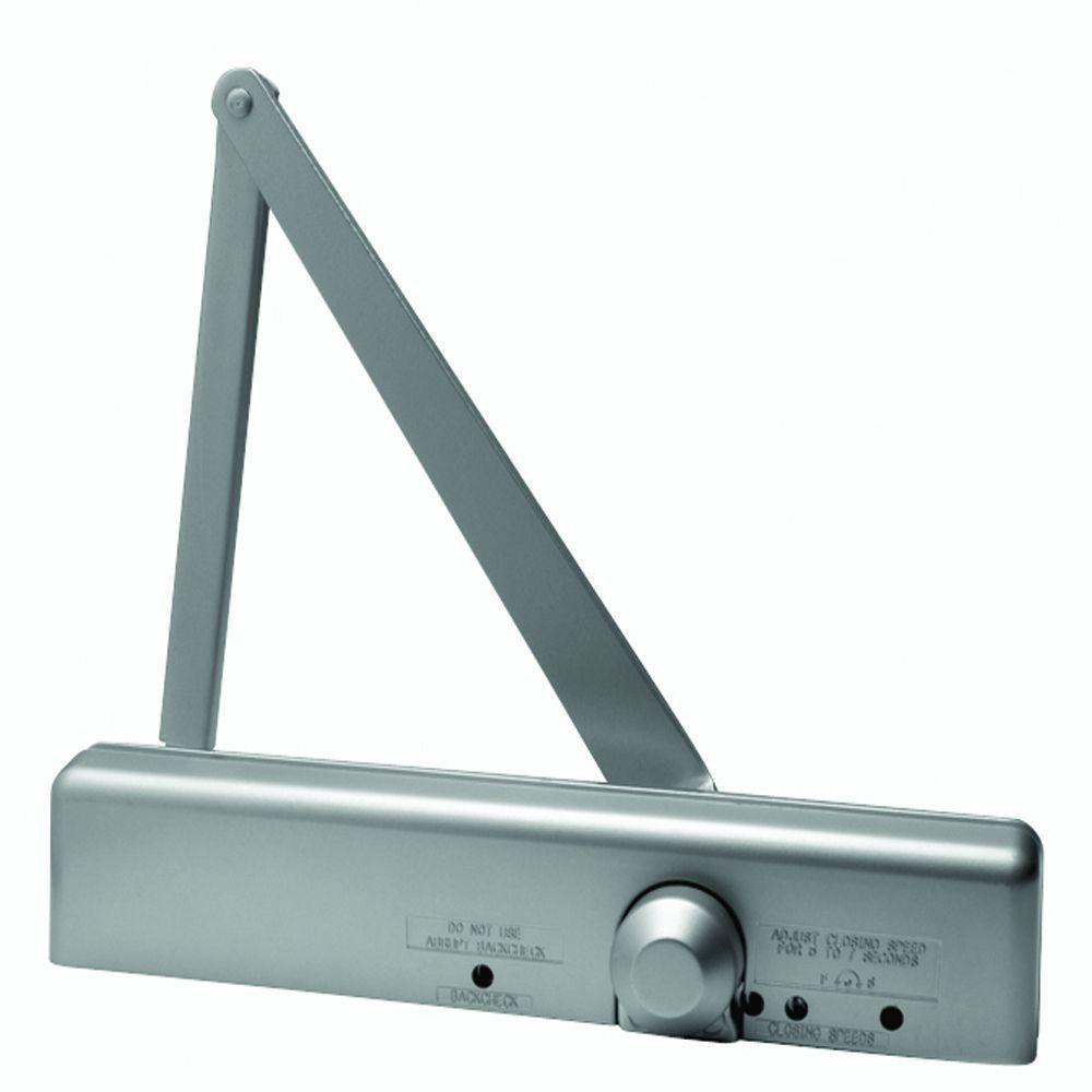 Global Door Controls Slimline Heavy Duty Commercial Door Closer in Aluminum - Sizes 1-6  sc 1 st  The Home Depot & Global Door Controls Slimline Heavy Duty Commercial Door Closer in ...