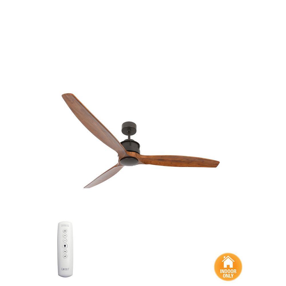 Akmani Oil Rubbed Bronze and Koa 60 DC Ceiling Fan