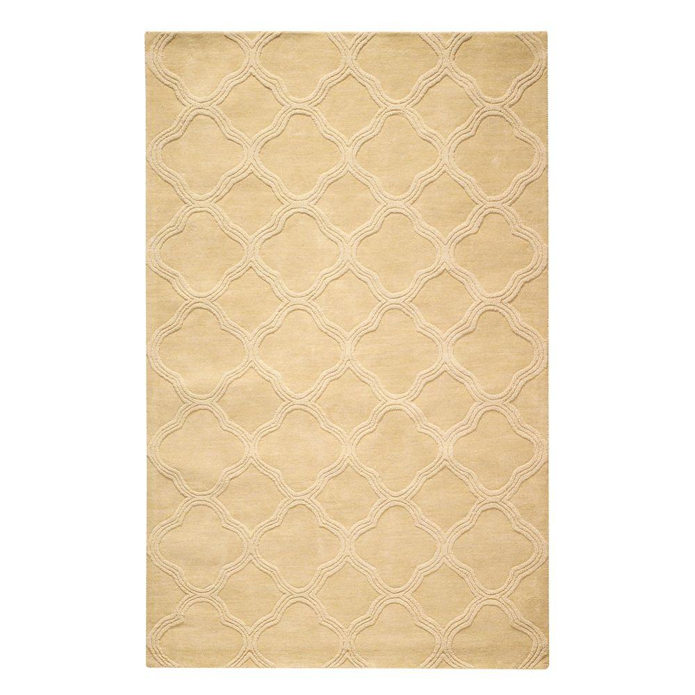 Home Decorators Collection Morocco Gold 5 Ft. 3 In. X 8 Ft