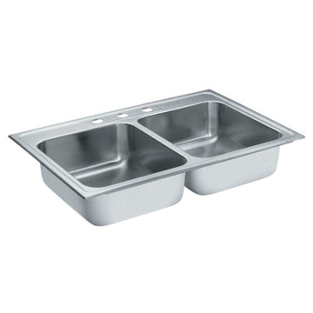 MOEN LancelotSingle Bowl Kitchen SinkDISCONTINUED