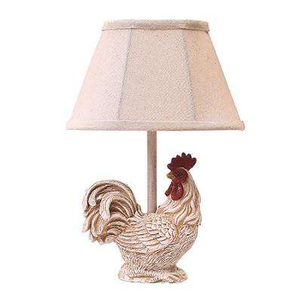 12 in. Tan Novelty Lamp