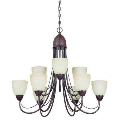 Fiscus 9-Light Oil-Rubbed Bronze Chandelier