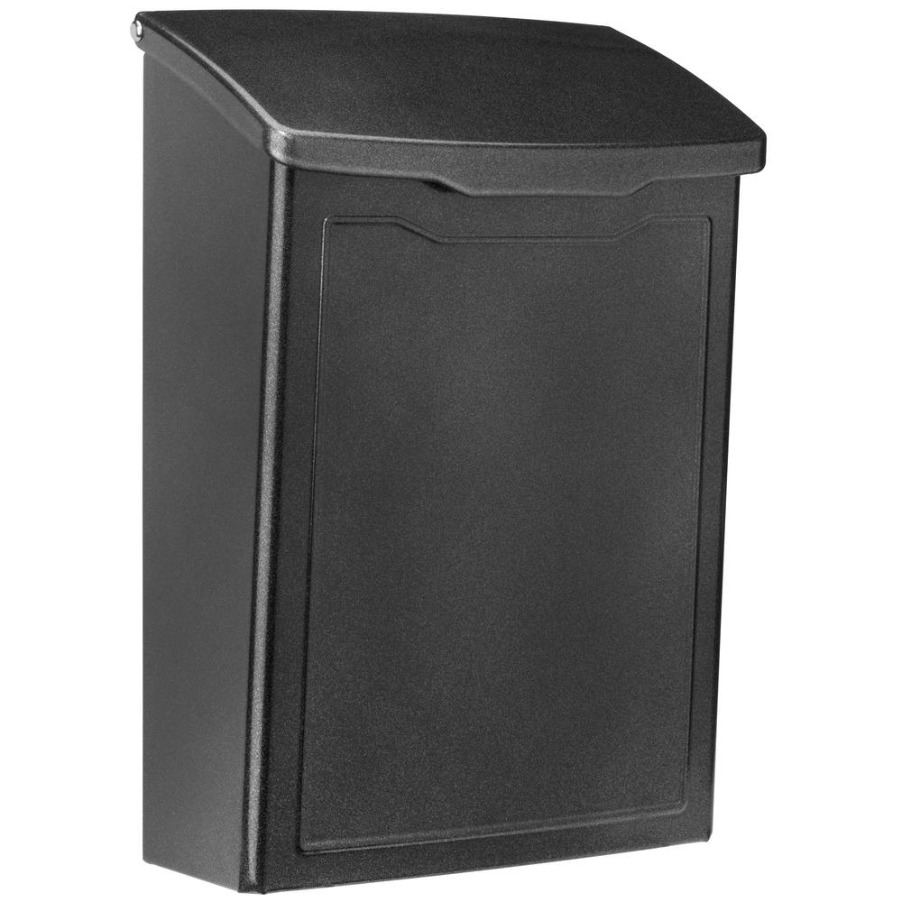 Architectural Mailboxes Marina Pewter Wall Mount Mailbox