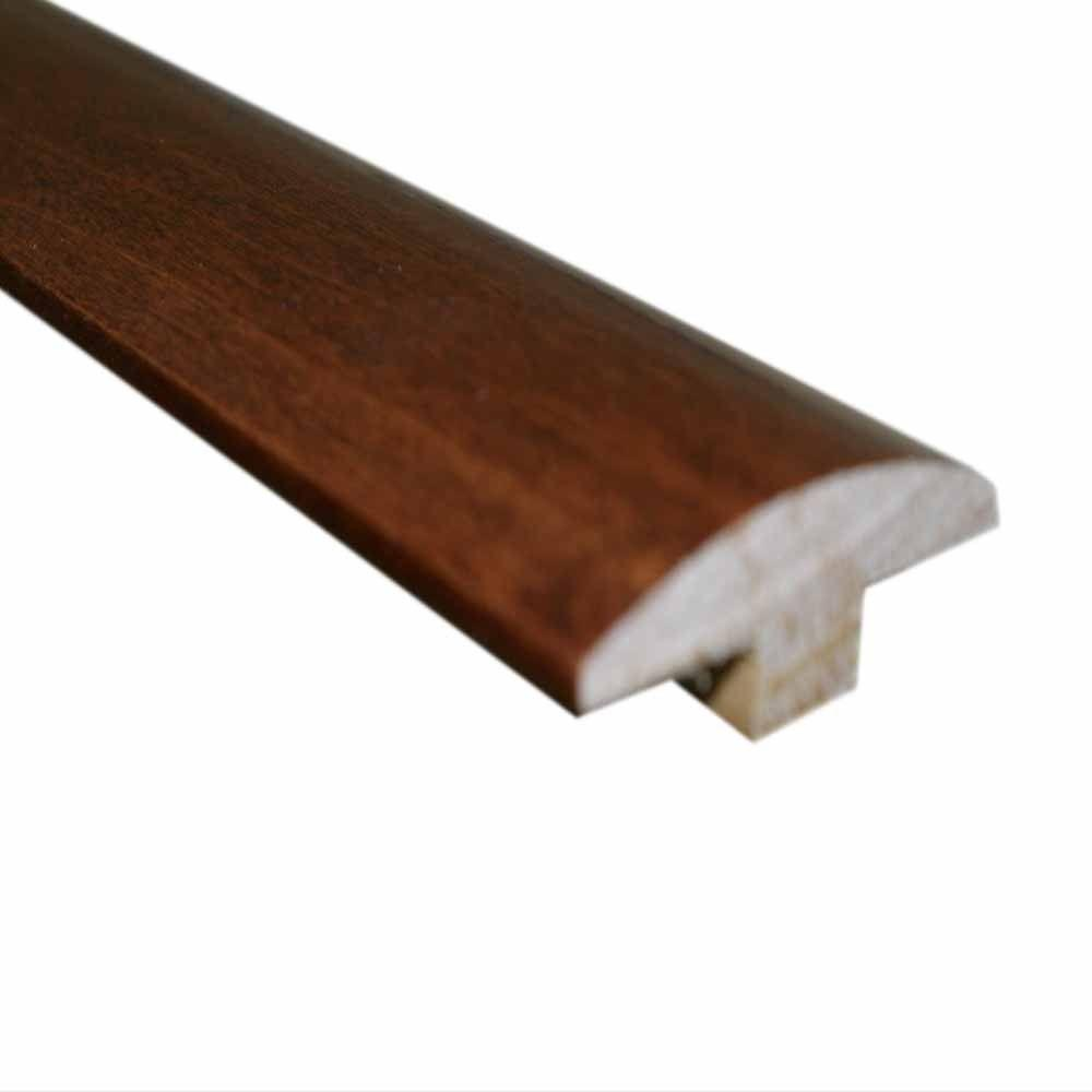 null Hickory Dusk 3/4 in. Thick x 2 in. Wide x 78 in. Length Hardwood T-Molding