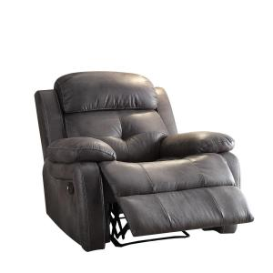 Acme Furniture ACME Ashe Gray Recliner by Acme Furniture