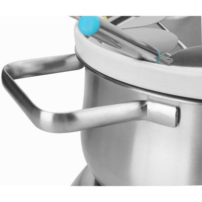 350 W Black Stainless Steel Electric S'mores and Fondue Maker