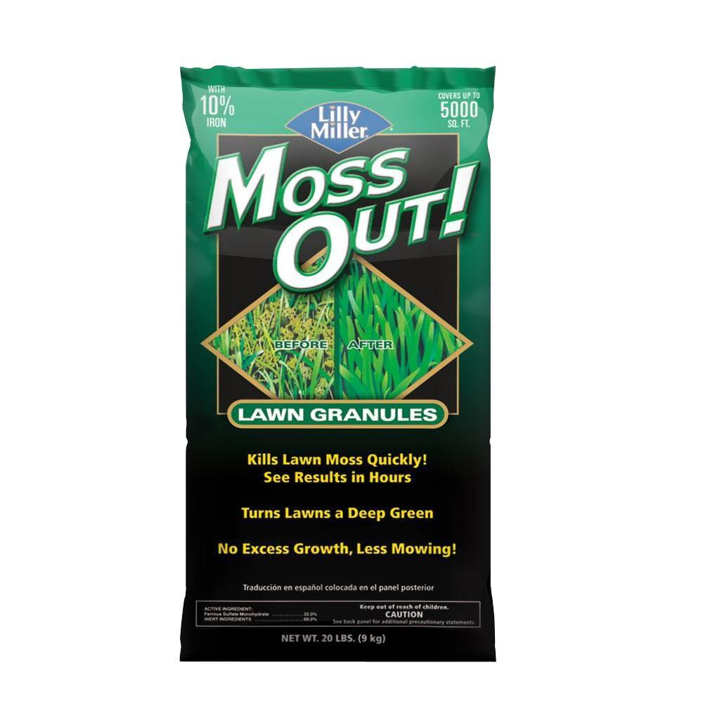 Lilly Miller 20 lb. Moss Out! Lawn Granules