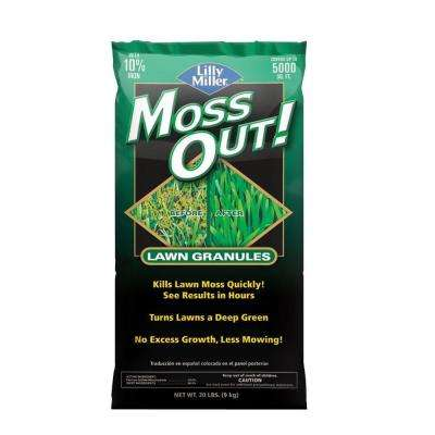 20 lb. Moss Out! Lawn Granules