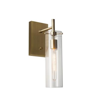 Dalton 1-Light Antique Brass Wall Sconce