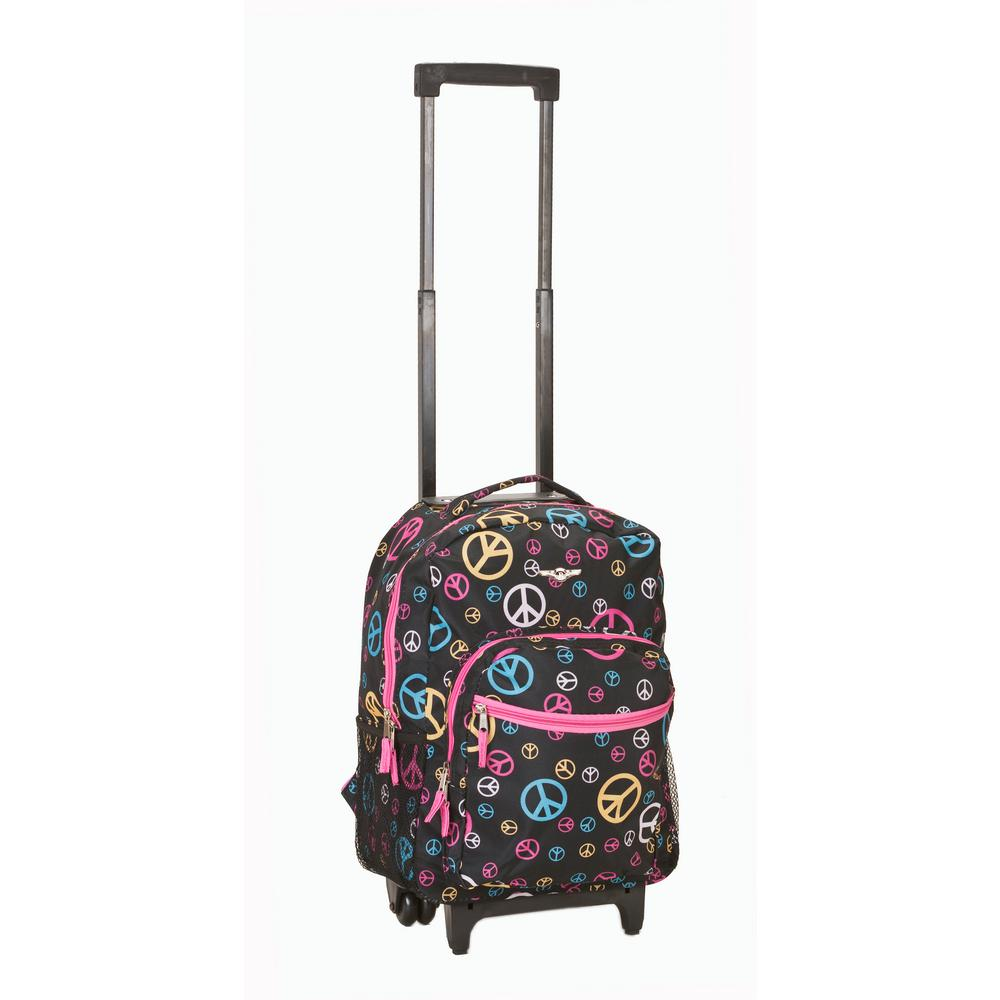 17 in. Multi Rolling Backpack