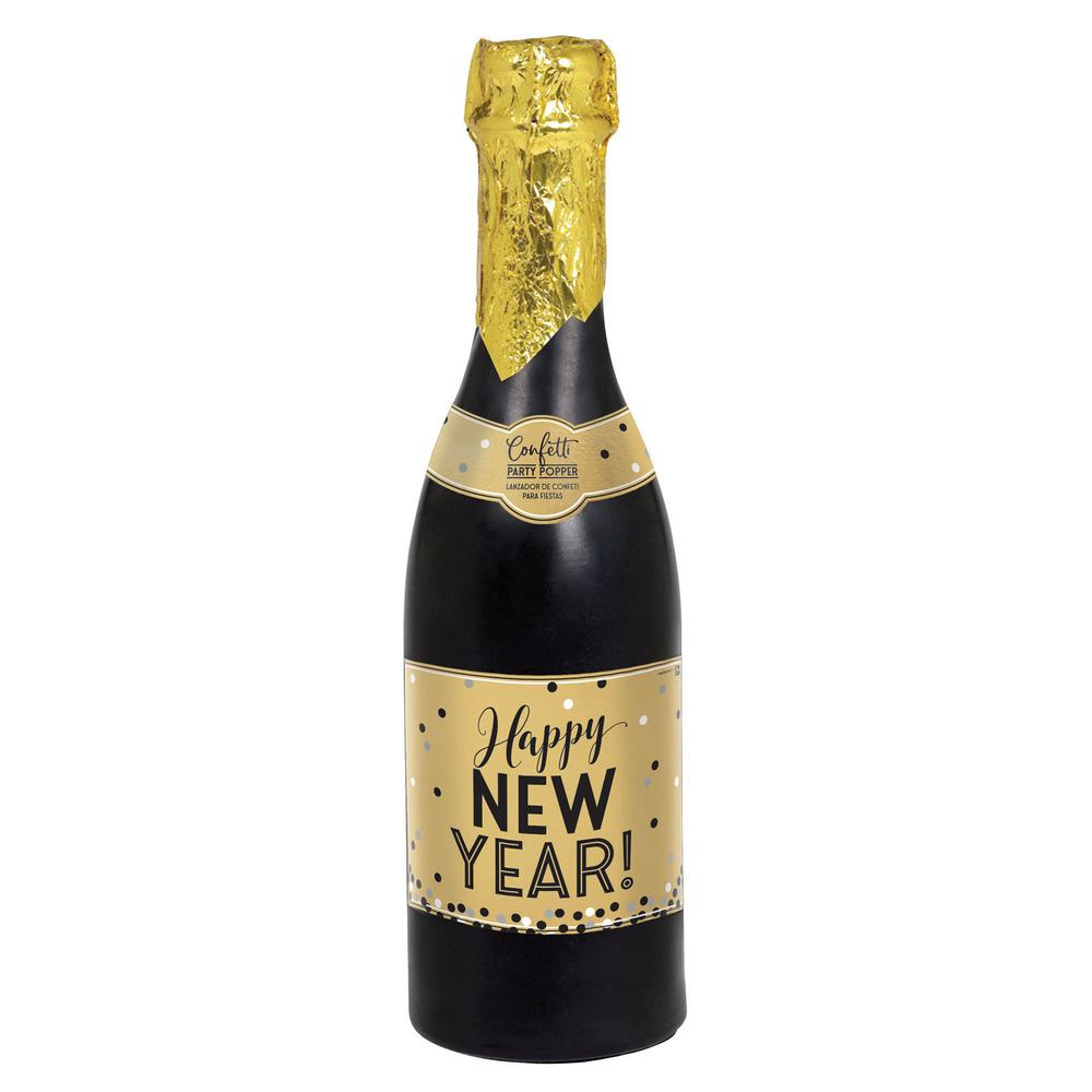 New Years Eve Giant Confetti Champagne Bottle Popper NYE ...