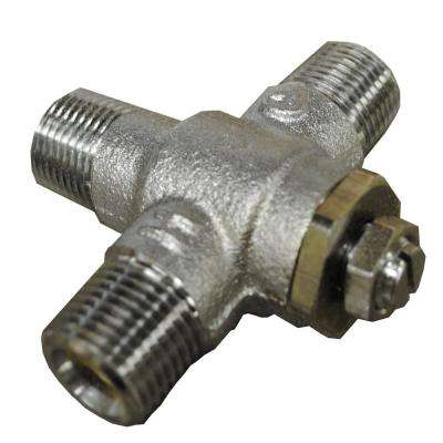 Thermostatic Tempering Valve for Sink Bowls