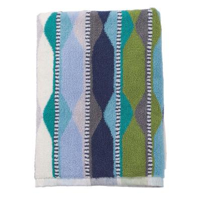 Wave Lengths Cotton Hand Towel