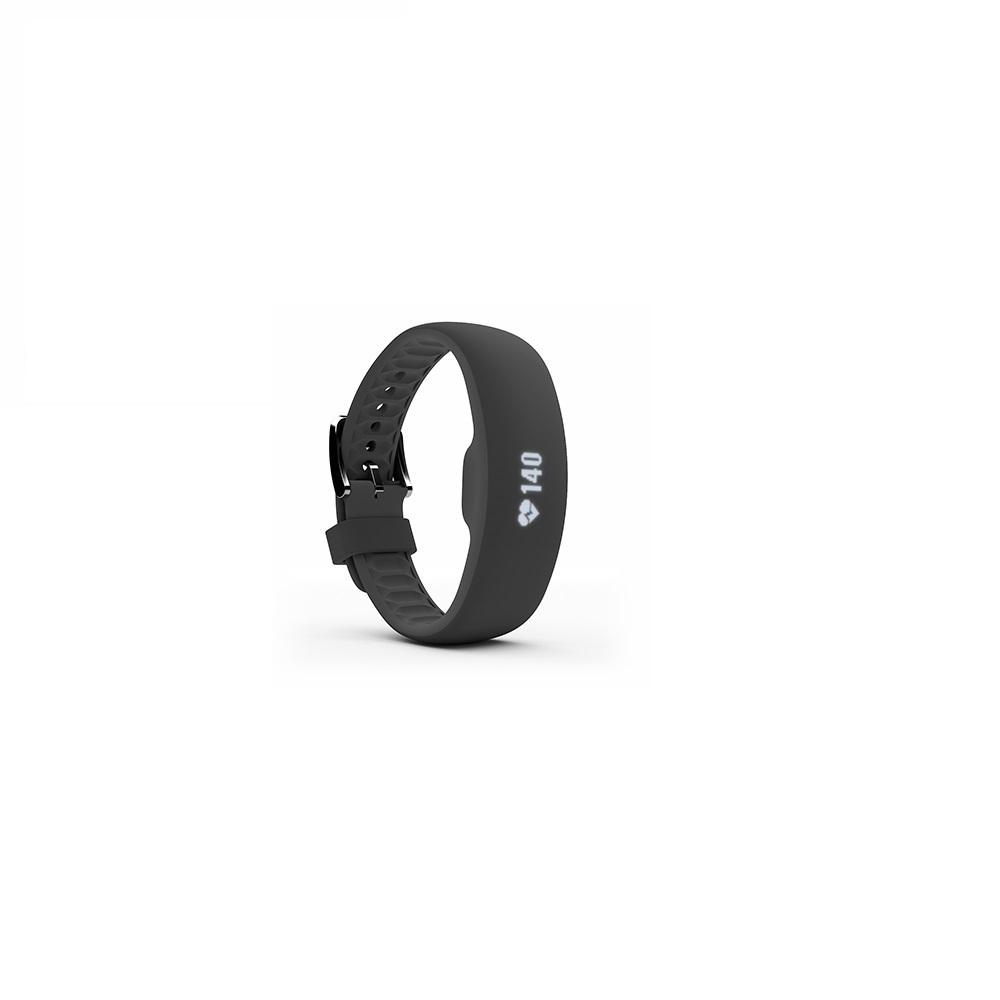 iFit Asphalt Small Medium Fitness Tracker Dare to challenge your fitness with the Axis HR. All day long, and even during your most energetic workouts, ActivePulse ensures that you get heart rate tracking with three optical sensors. Plus, with MoveReady auto-activity detection and a water-resistant design, it's the perfect companion for your next adventure.