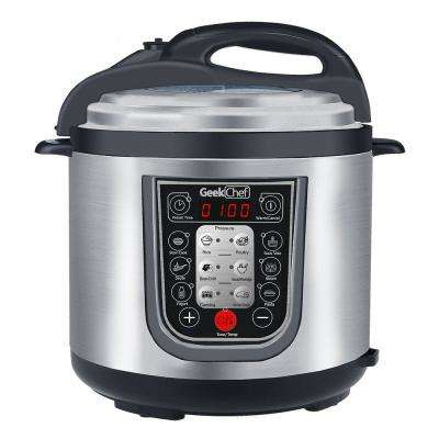 11-in-1 Multi-Function 6.3 Qt. Pressure Cooker