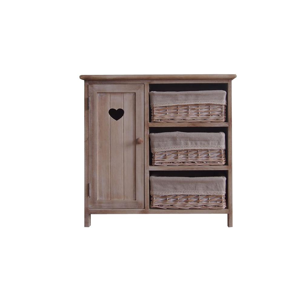 The urban port brown antiqued wood cabinet c203 123101 the home depot