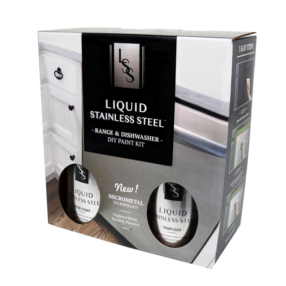 Giani Liquid Stainless Steel 12 Oz Stainless Steel Appliance Paint