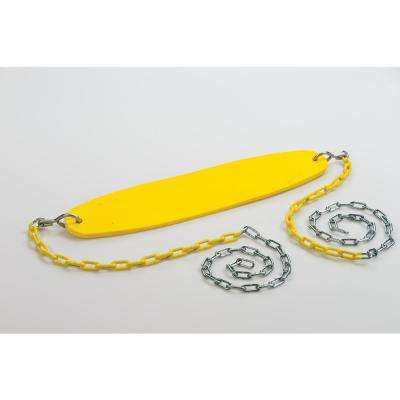 Ultimate Yellow Swing Seat with Chain