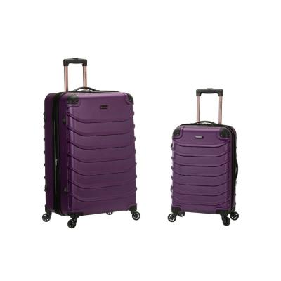 Rockland Expandable Speciale 2-Piece Hardside Spinner Luggage Set, Purple