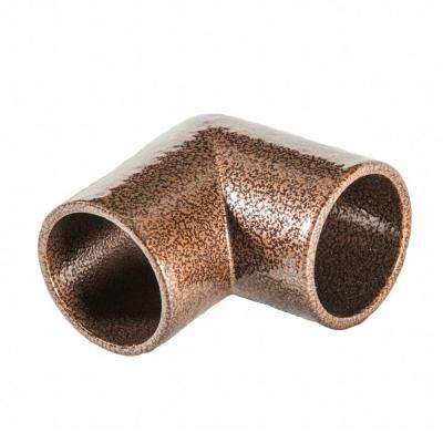 Copper Vein Aluminum 90 Degree Miter Hand Rail Elbow