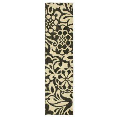Simpatico Earth Gray Starch 2 Ft X 8 Runner Rug