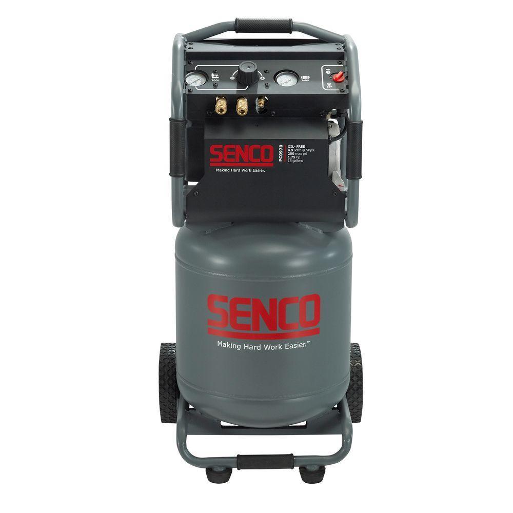 Senco 15 Gal. 1.75 HP Vertical Electric Air Compressor