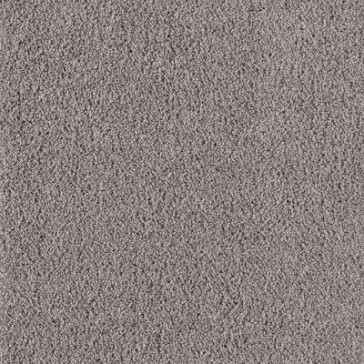Rookie I - Color Grey Flannel Texture 12 ft. Carpet