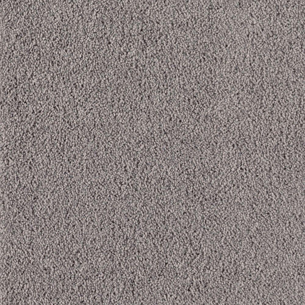 Rookie II - Color Grey Flannel Texture 12 ft. Carpet