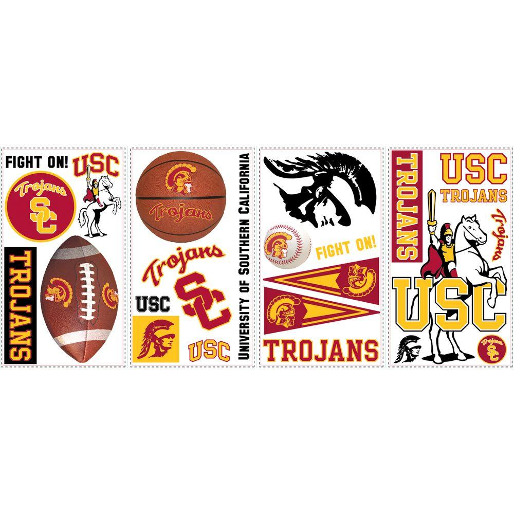 RoomMates University of Southern California Peel and Stick Wall Decal-DISCONTINUED