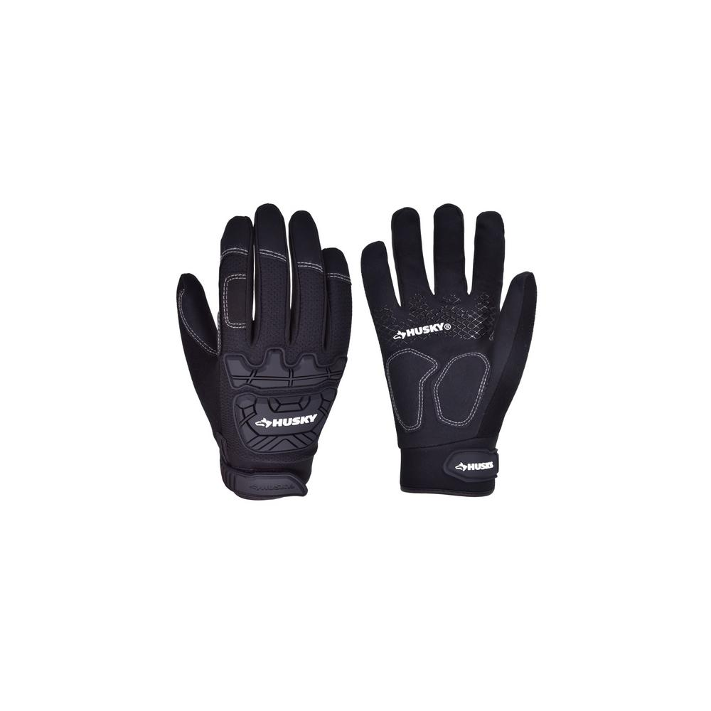 Husky Large High Dexterity Medium-Duty Glove (3-Pack)