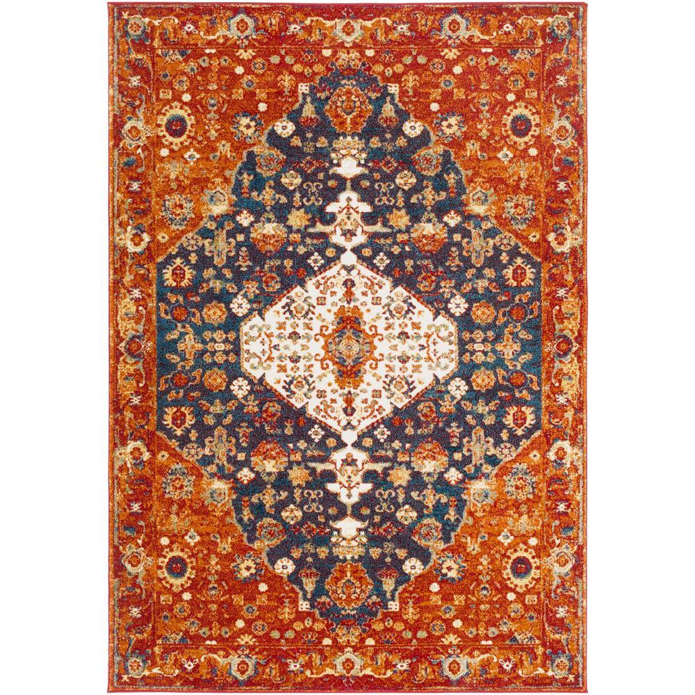 Artistic Weavers Aliza Red/Orange 6 ft. 7 in. x 9 ft. 6 in. Oriental Area Rug