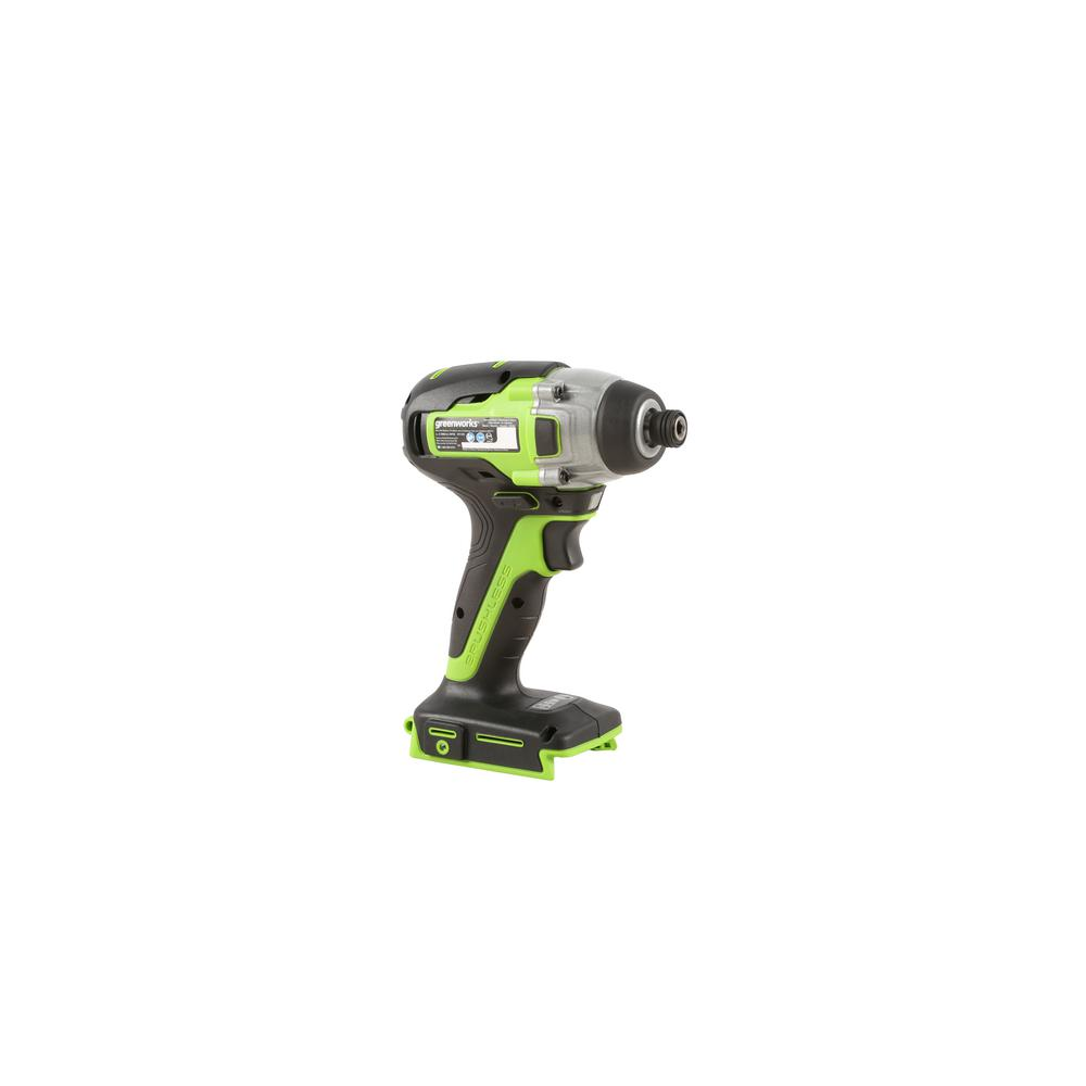 Greenworks - 24-Volt Brushless Impact Driver, Battery Not Included ID24L00