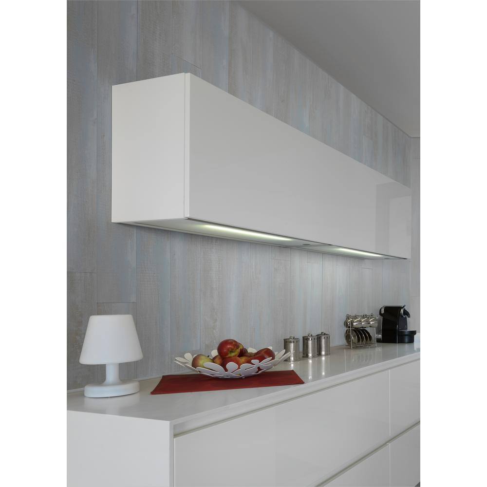 Resin Panels For Kitchen : Grosfillex element wood in white