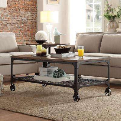 Cabella Distressed Ash Coffee Table