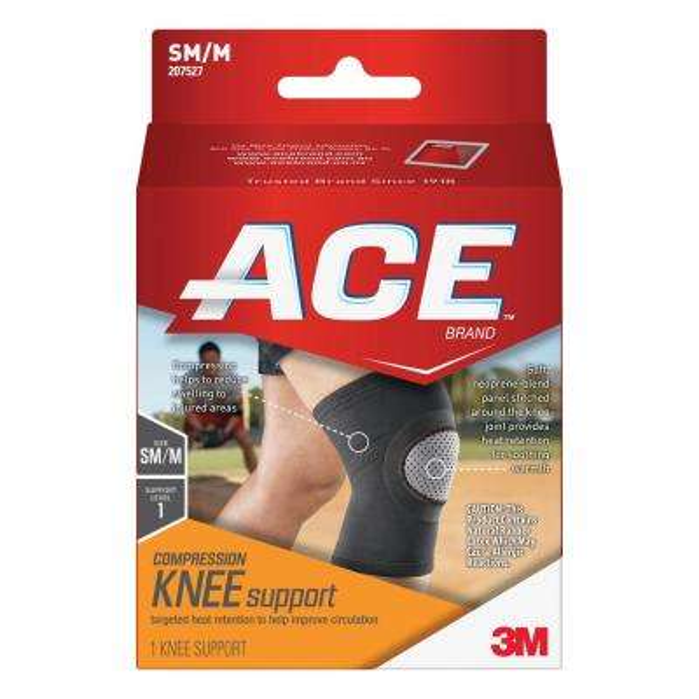 Small/Medium Elasto-Preene Knee Support Brace in Black