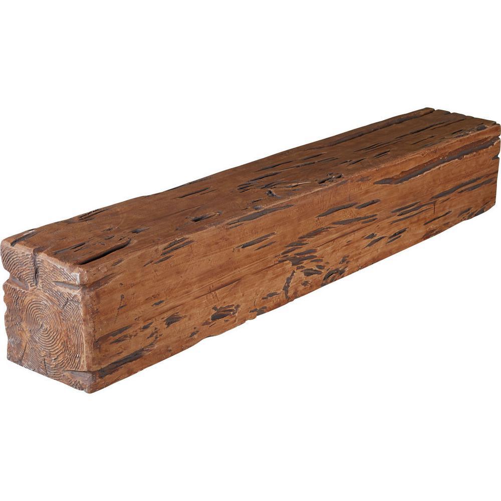 P Graham Dunn Saddle Up Rustic Whitewash 3.5 x 3.5 Inch Pine Wood Tabletop Block Sign