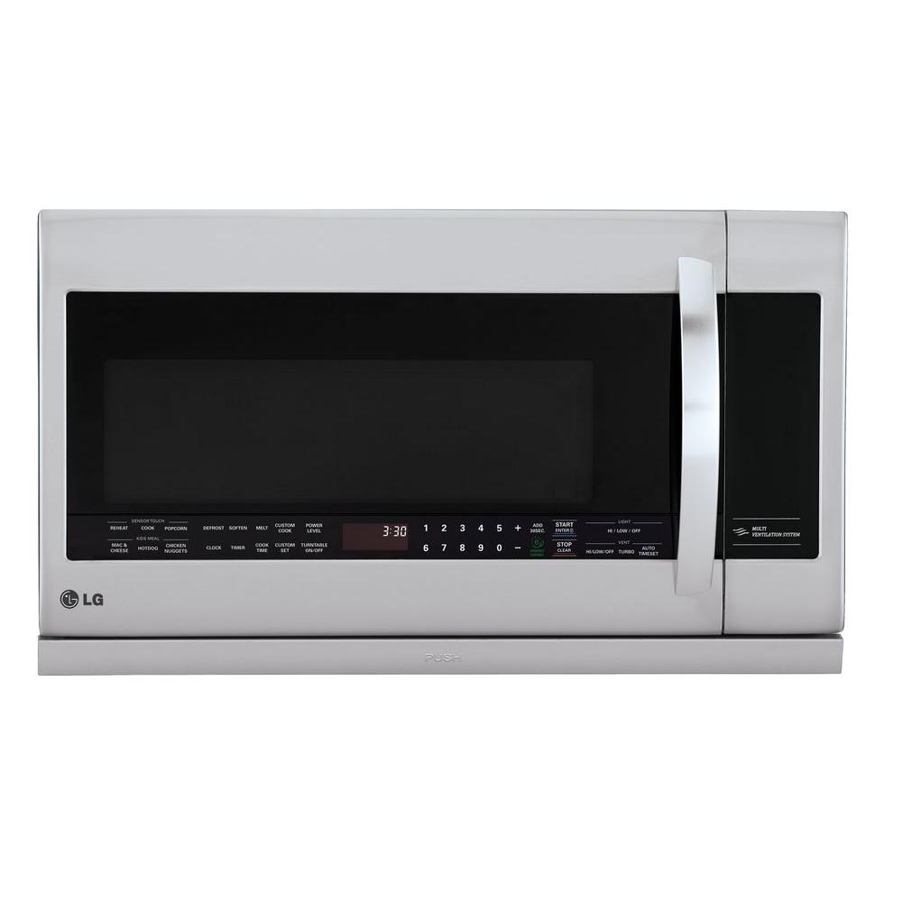 2.2 cu. ft. Over the Range Microwave in Stainless Steel with