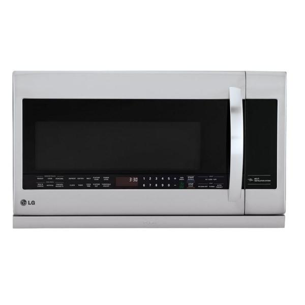 2.2 cu. ft. Over the Range Microwave in Stainless Steel with Sensor Cook and ExtendaVent